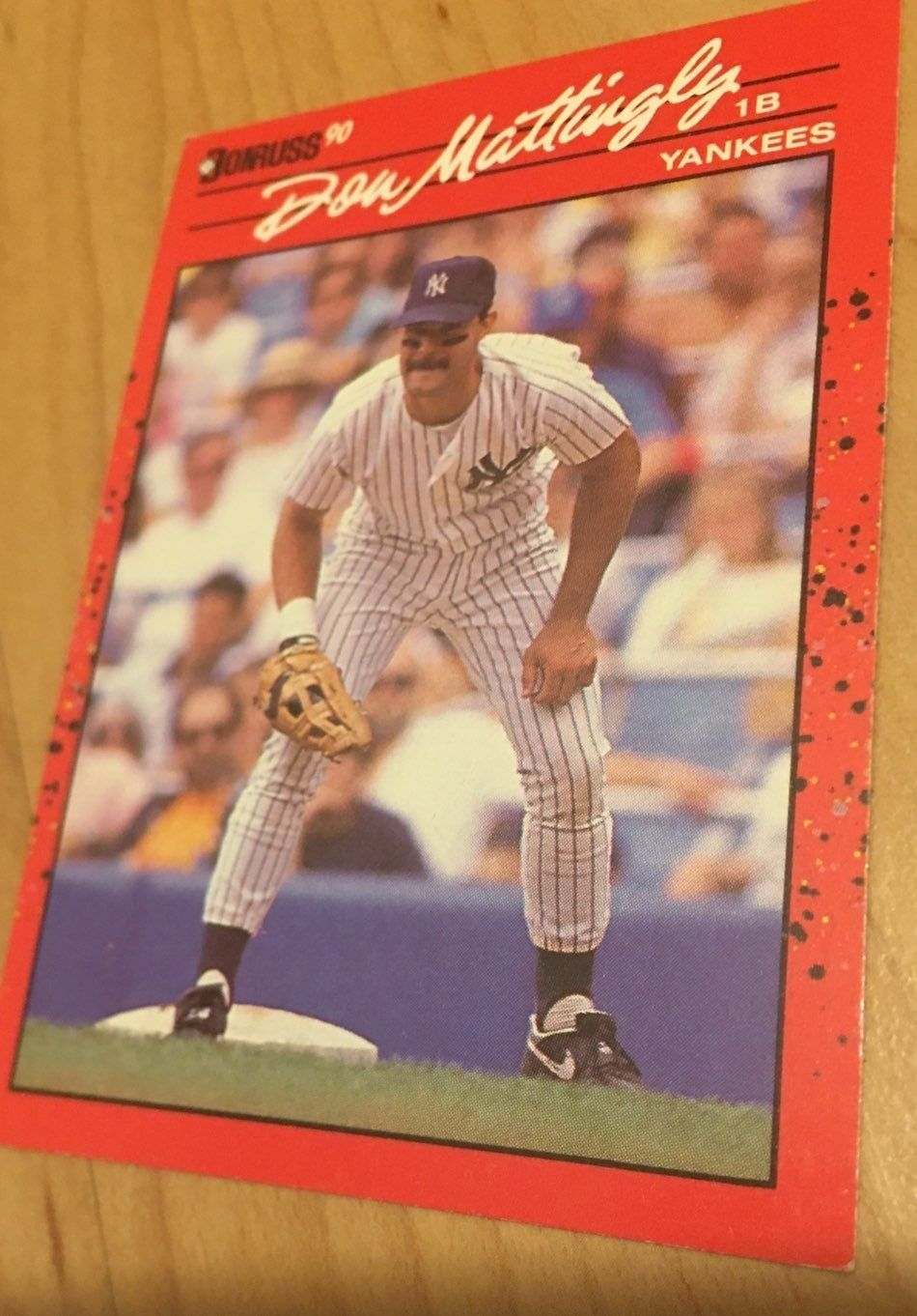 This card is a must have for any baseball collector. Card
