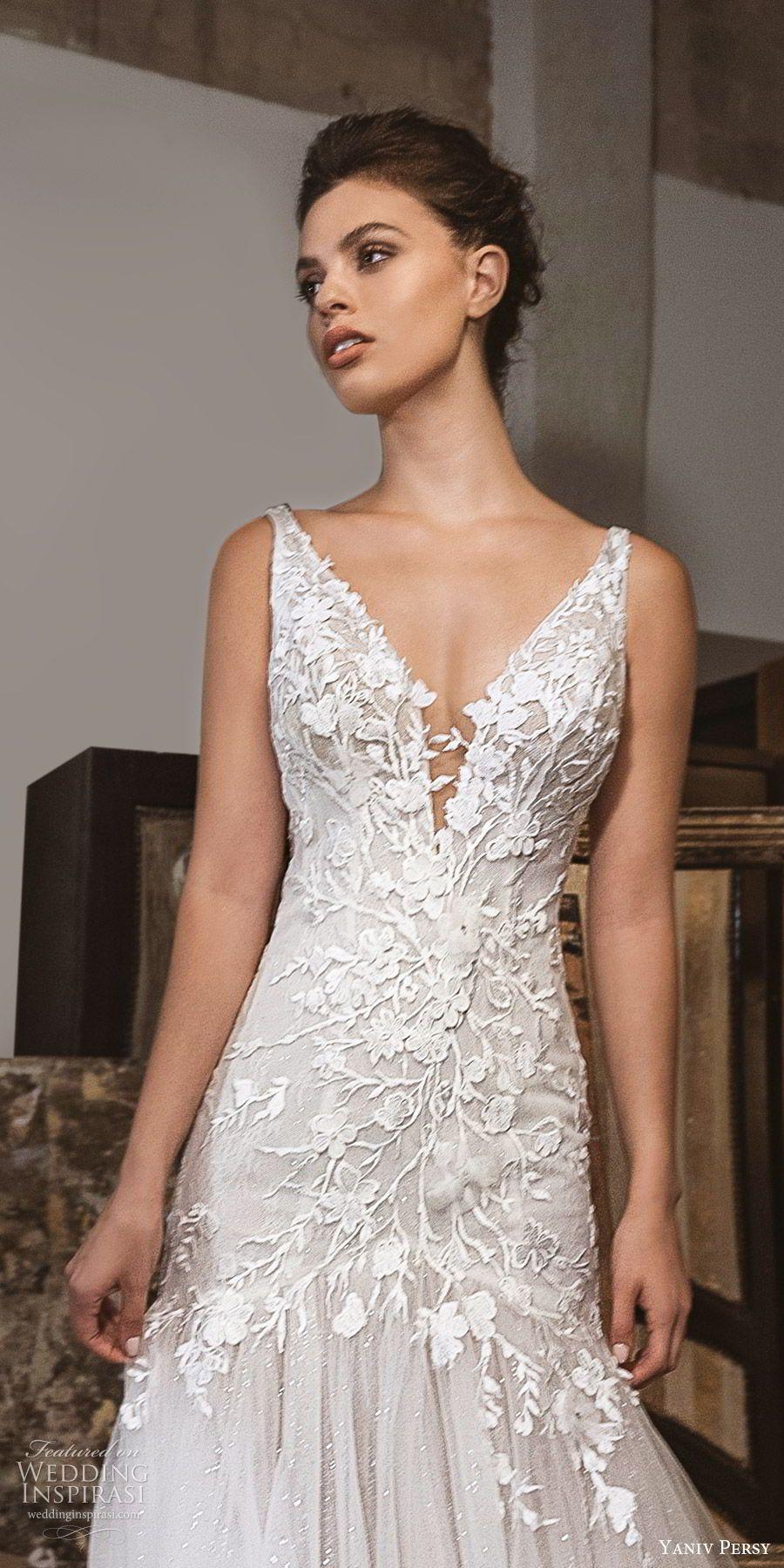 Fleur wedding dress  Lavish by Yaniv Persy Fall  Wedding Dresses u ucBlossom u Fleur