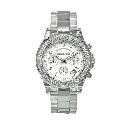 Michael Kors Women's Glitz Watch in Silver