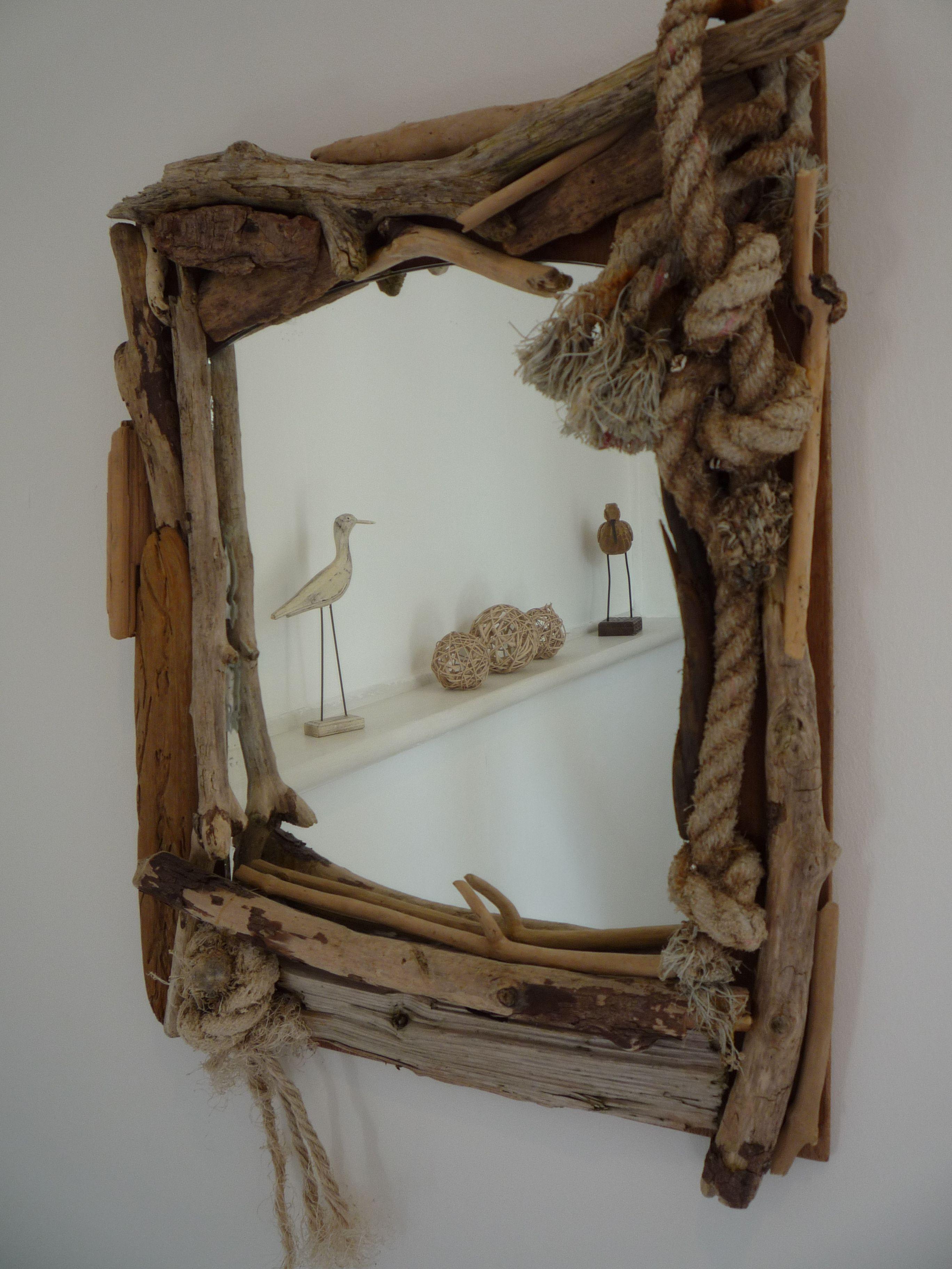 Driftwood Mirror Magnolia Cottage Diy Treibholz Ideen Alle