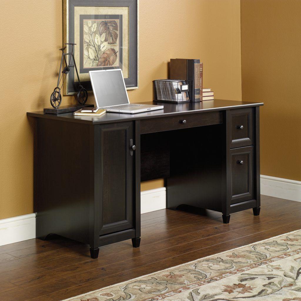 sauder edge water computer desk black http devintavern com