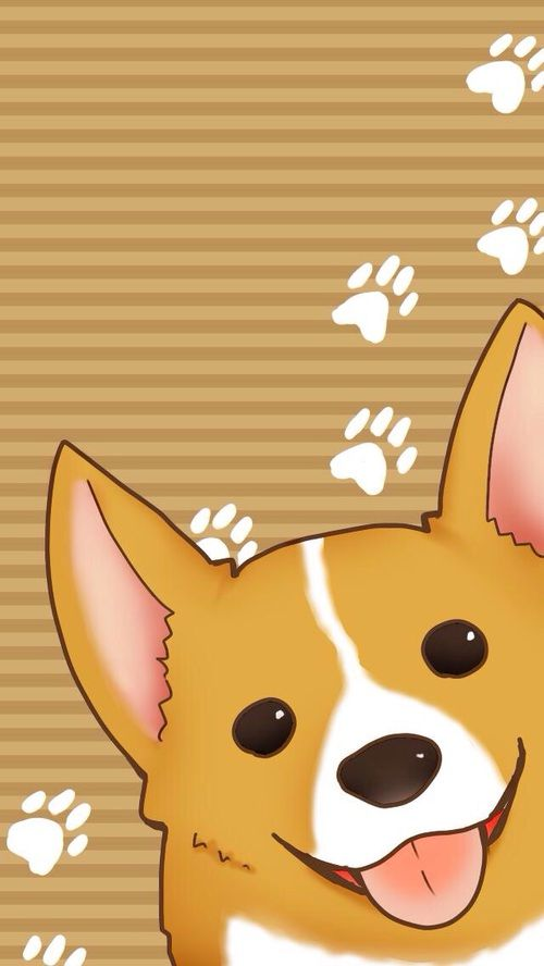 Pin By Estrella On Wallpapers2 Dog Wallpaper Iphone Corgi Wallpaper Iphone Corgi Drawing