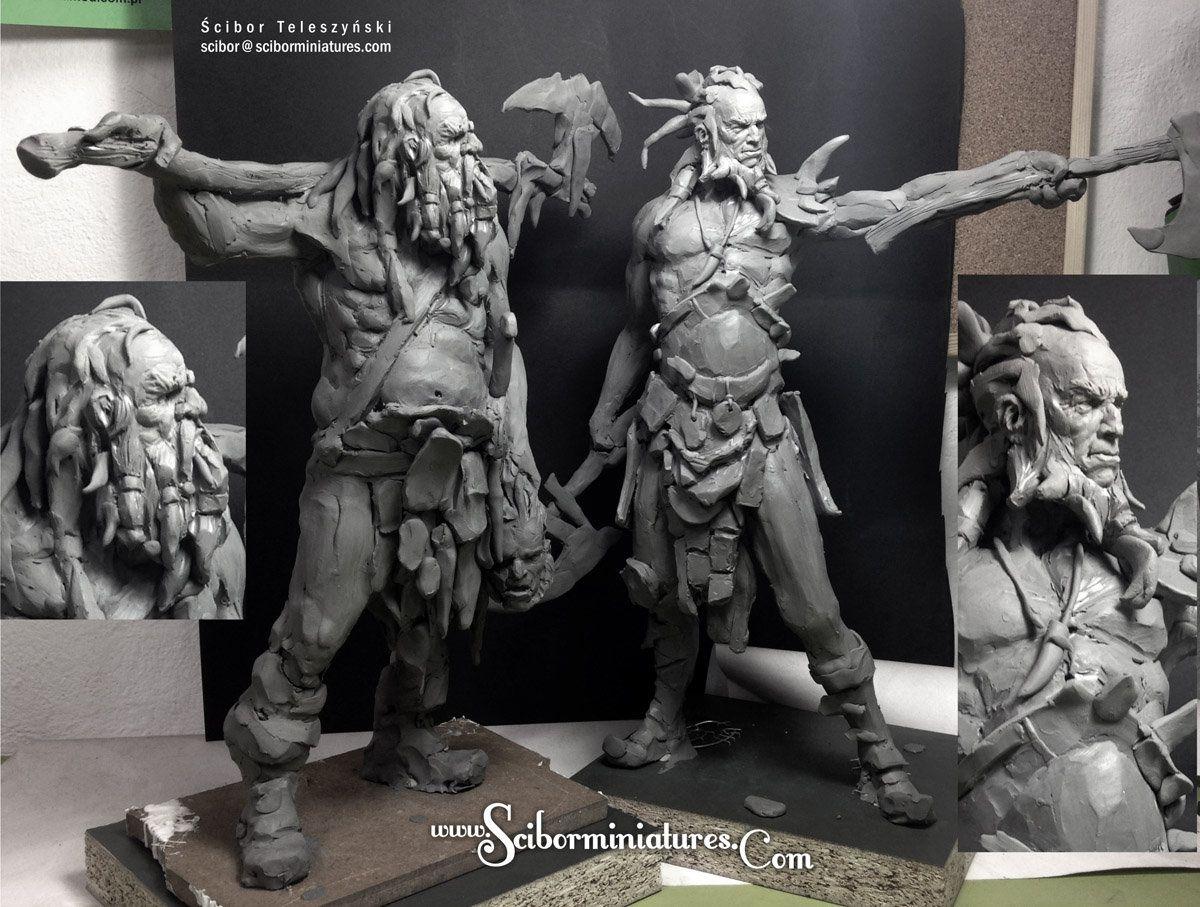 Plasticine Sculpture — Lorenzo Sculptures  Plasticine Sculpture