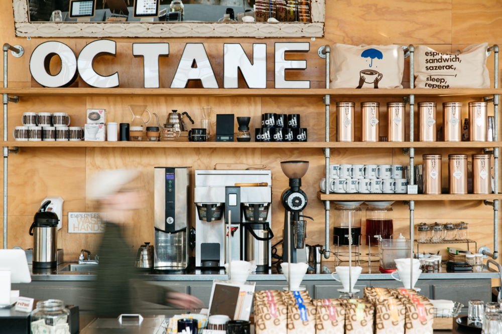 Octane coffee bar Atlanta coffee shops, Coffee bar