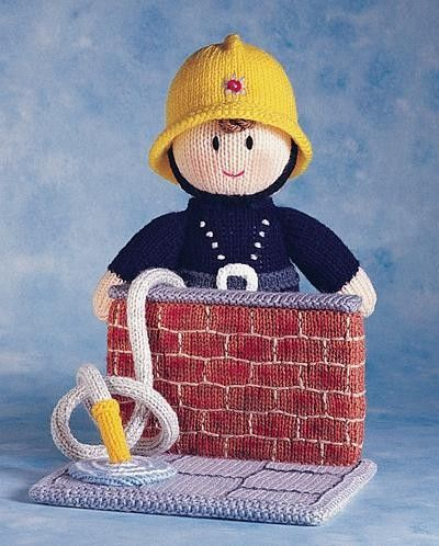 We love this fab fireman by Jean Greenhowe!
