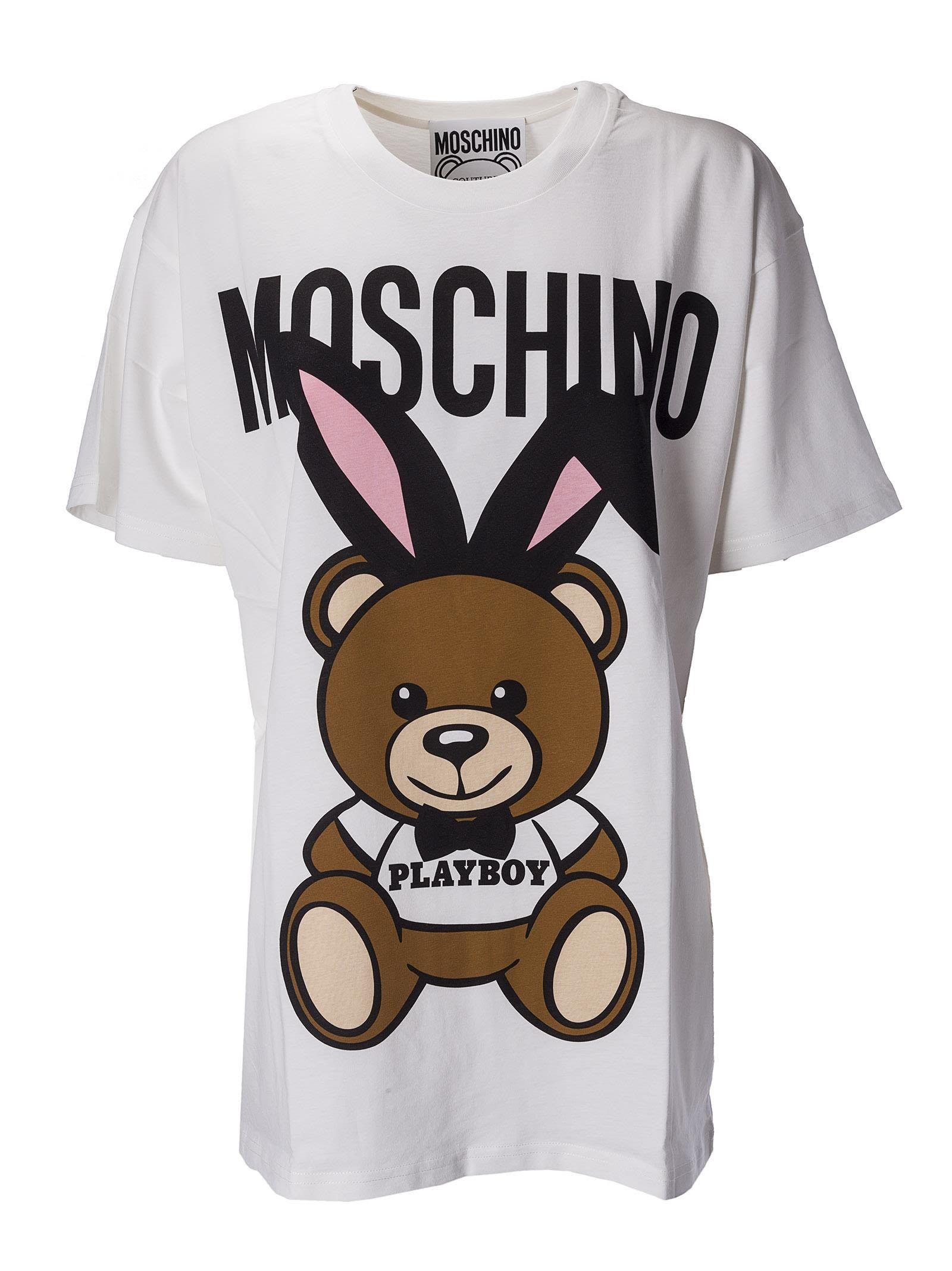 4f4e259405ff MOSCHINO PLAYBOY TEDDY DRESS. #moschino #cloth #   Moschino   Bear t ...