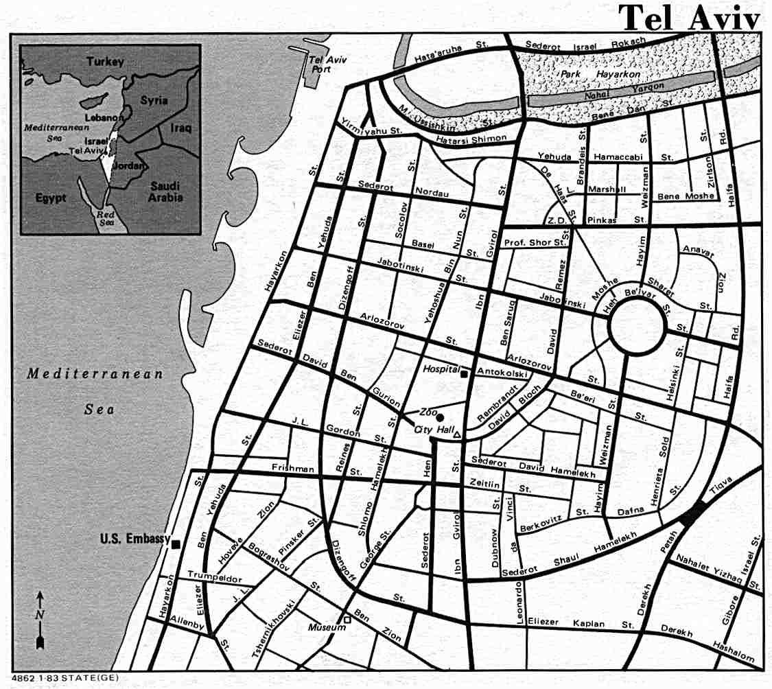 tel aviv design map map Pinterest