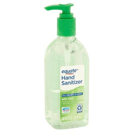 Equate Waterless Hand Sanitizer 8 Oz Hand Sanitizer Sanitizer