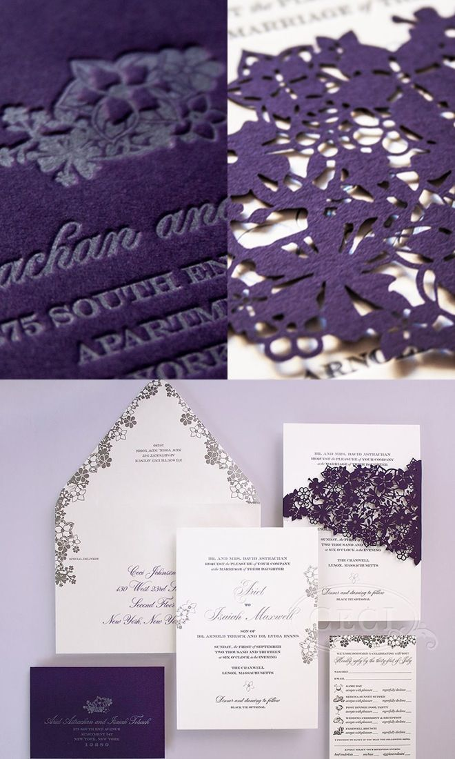 Mix and match invitation printing styles to