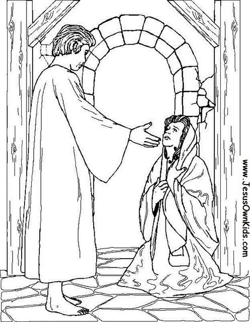 40a Matthew Angel Appears To Mary Www Jesusownkids Com Angel Coloring Pages Bible Coloring Pages Coloring Pages