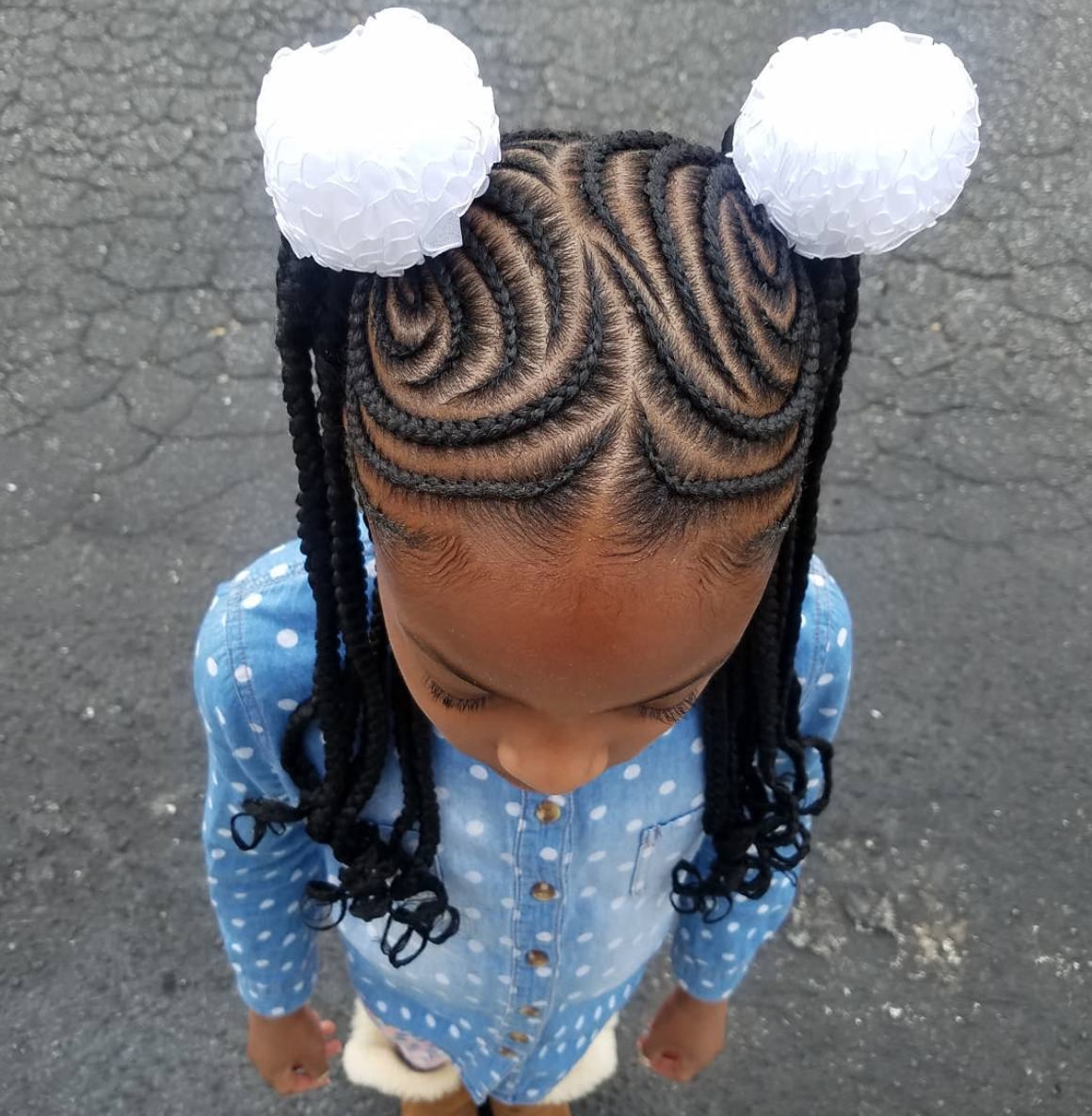 hair color styles lil girl