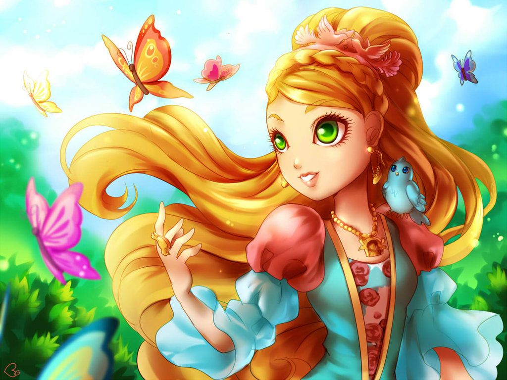 Ever after high coloring games online - Ashlynn Ella Ever After High By Kagomesarrow77 Deviantart Com On Deviantart