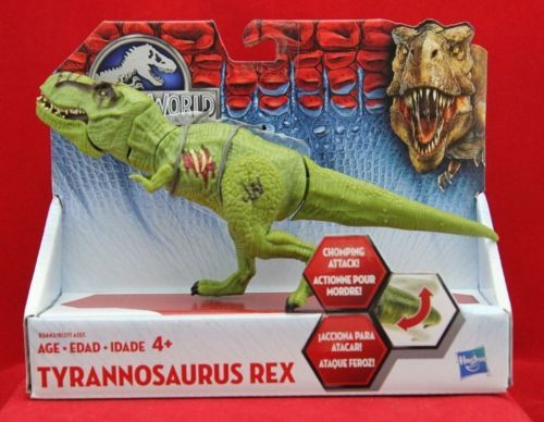 Jurassic World Bashers And Biters Green Tyrannosaurus Rex Action