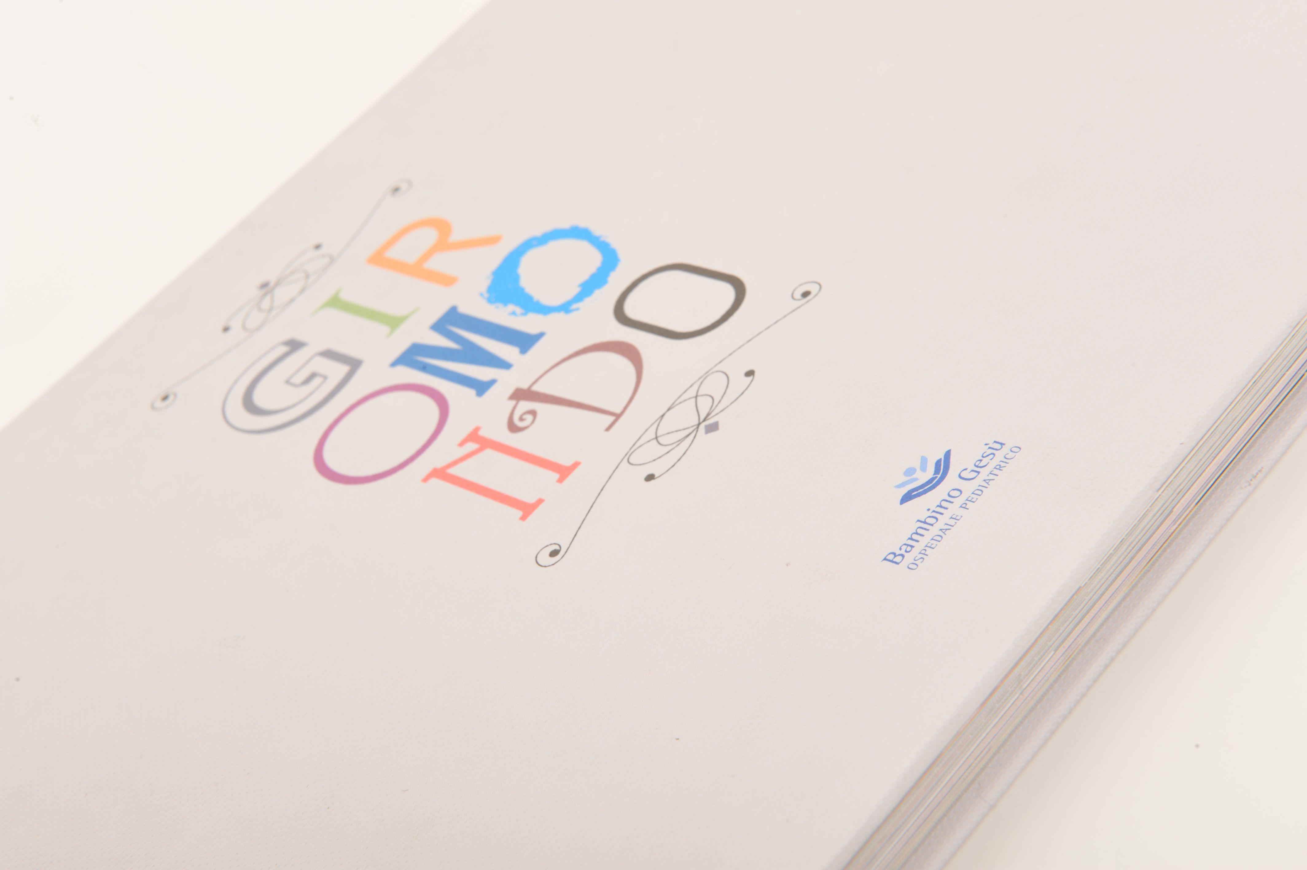 Loghi Bambini ~ Cliente: ospedale pediatrico bambino gesÙ lavoro: libro giromondo