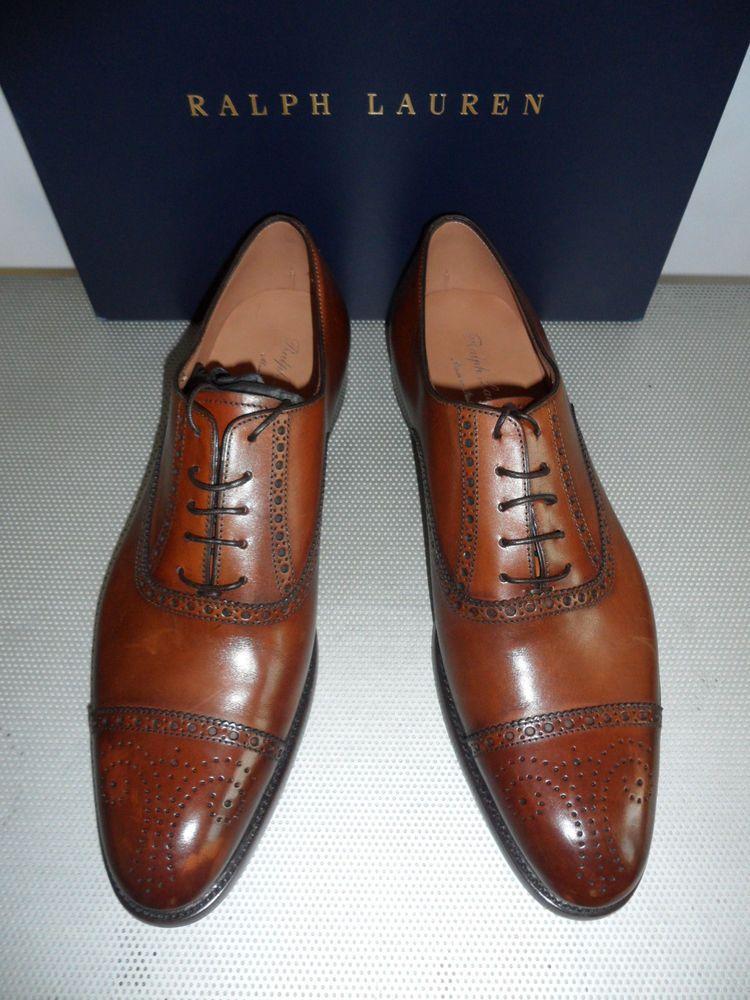f1a900e529 Ralph Lauren Denver Cap-Toe Shoe (Size 8.5 D) #RalphLauren #Dressy ...