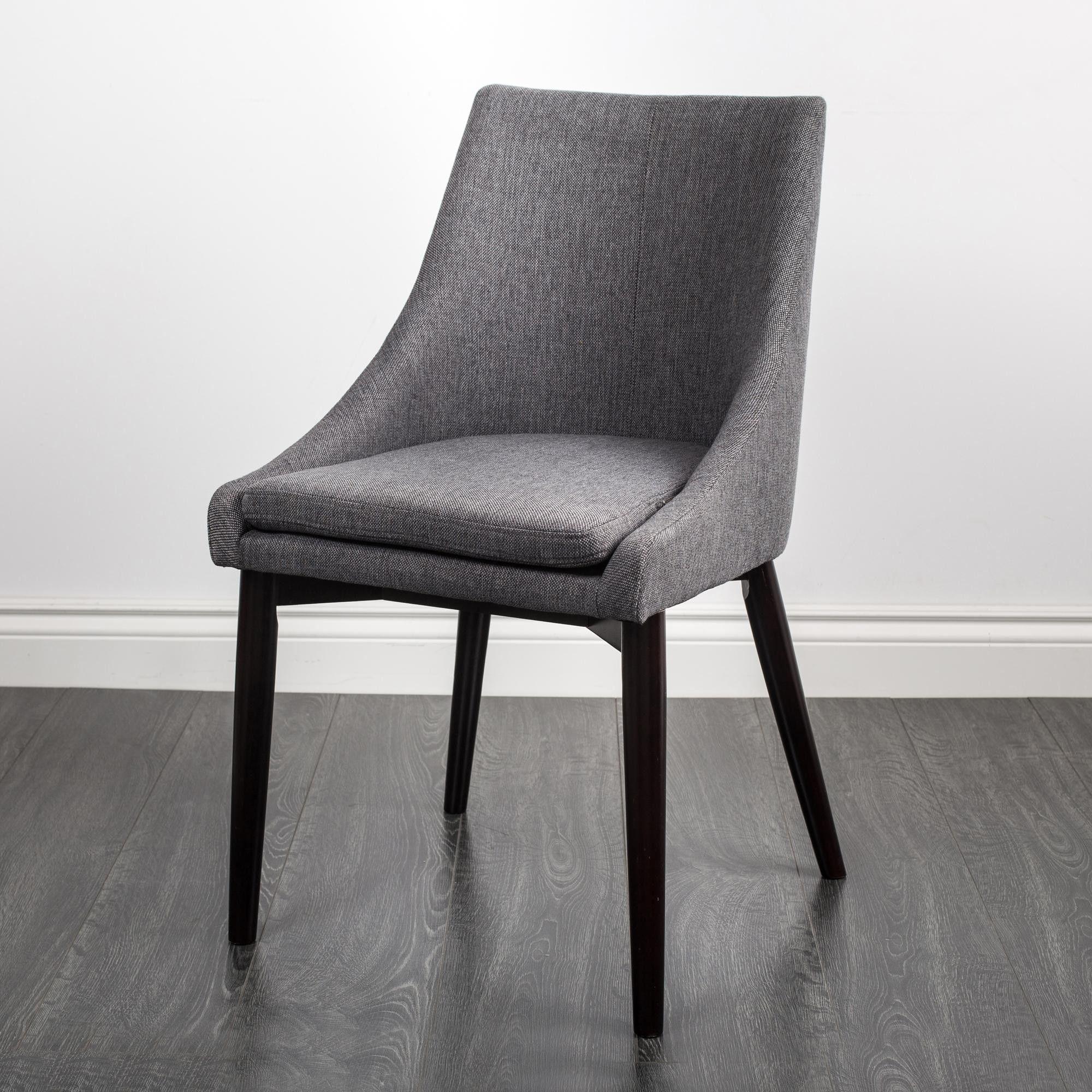 Grau Esszimmer Stühle Gepolsterte Leder Stühle Carver Stühle Silber