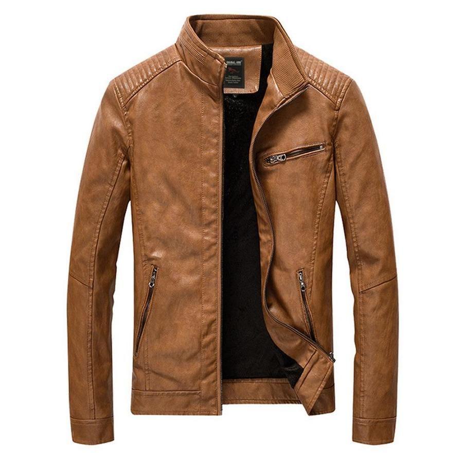 Mens Faux Leather Biker Jacket In 2021 Leather Jacket Style Faux Leather Bomber Jacket Leather Jacket Men [ 900 x 900 Pixel ]