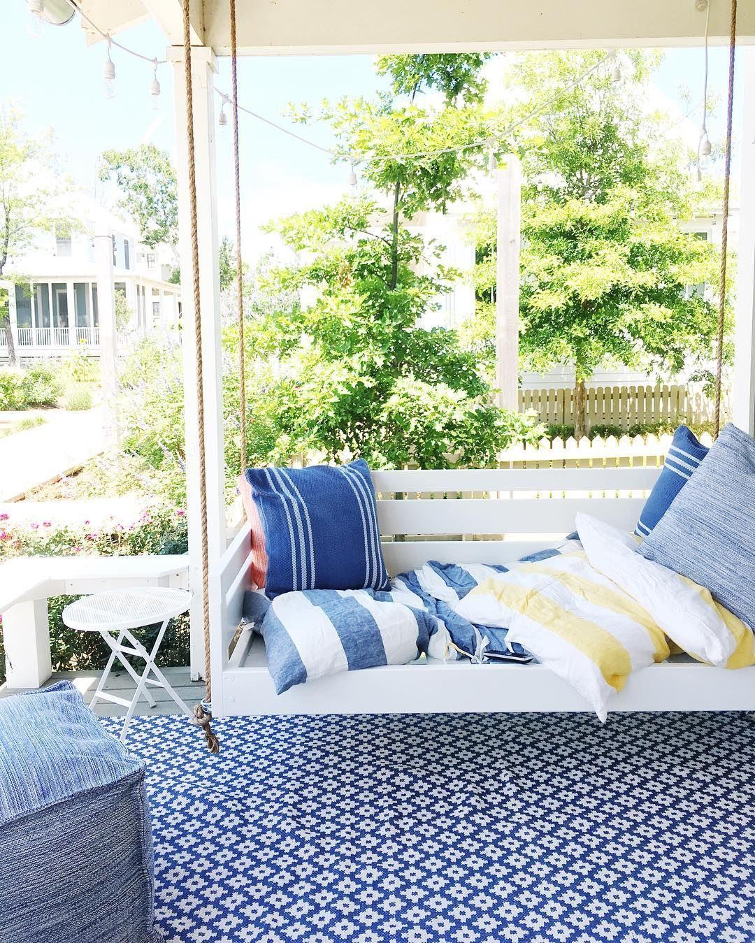 Outdoor daybed swing for Divan instagram