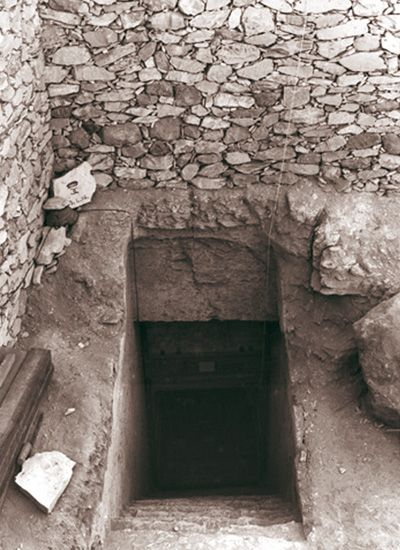 The Curse Of King Tuts Tomb Torrent: The Stone-stepped Entrance To The Tomb Of Tutankhamun, As