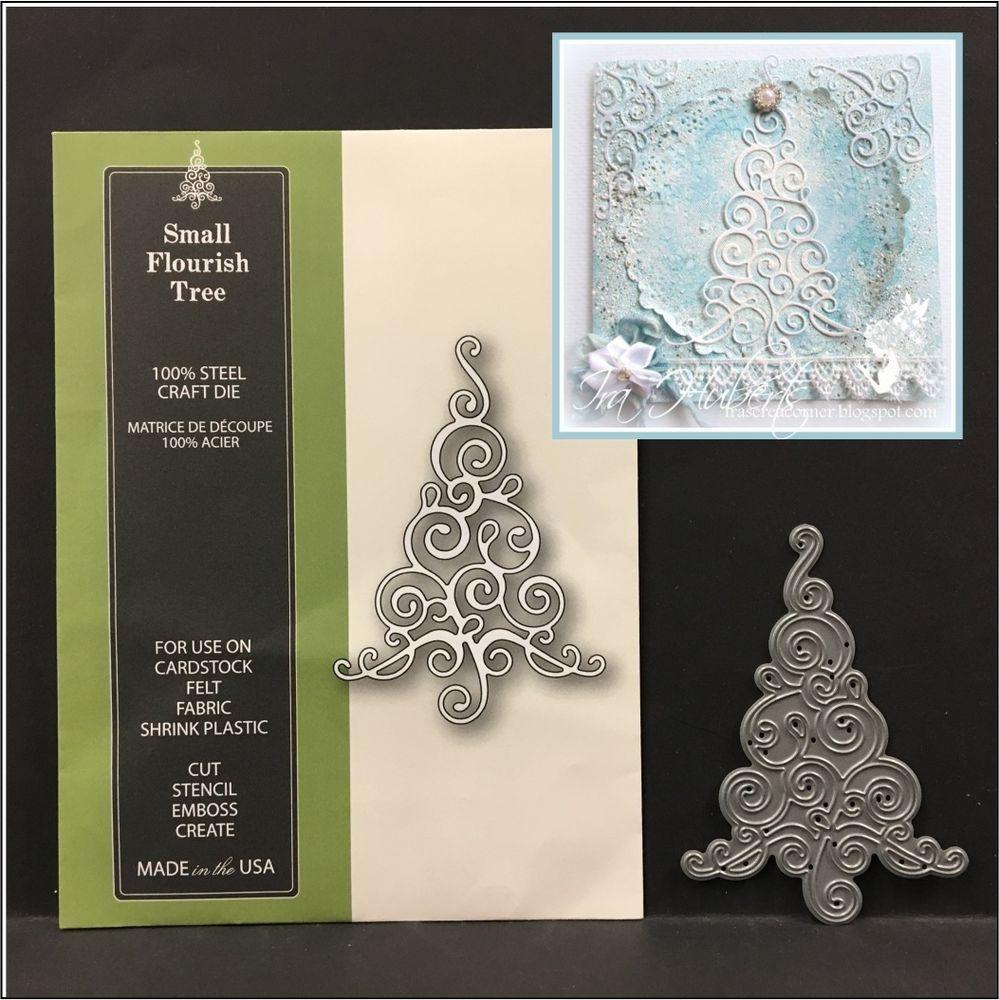 Memory Box cutting dies 99850 Christmas Piccolo Snowflakes metal dies