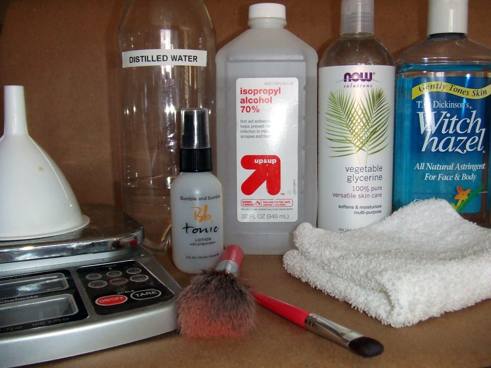 DIY BRUSH CLEANER :: #PrettyGirlScience came up w/ a QUICK