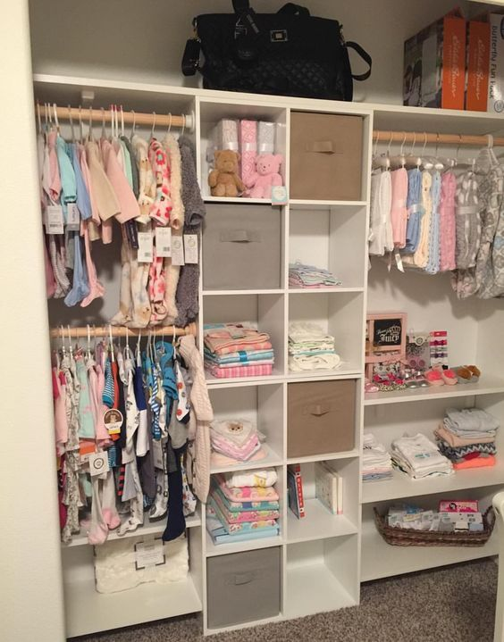 Easy Nursery Organization Ideas and Drawer Organizers images