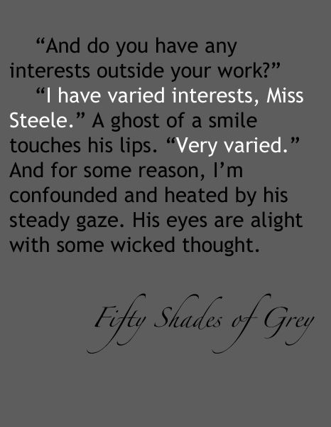 Quotes From 50 Shades Of Grey Extraordinary Fifty Shades Of Grey  Fifty Shades  Pinterest  Fifty Shades Gray .
