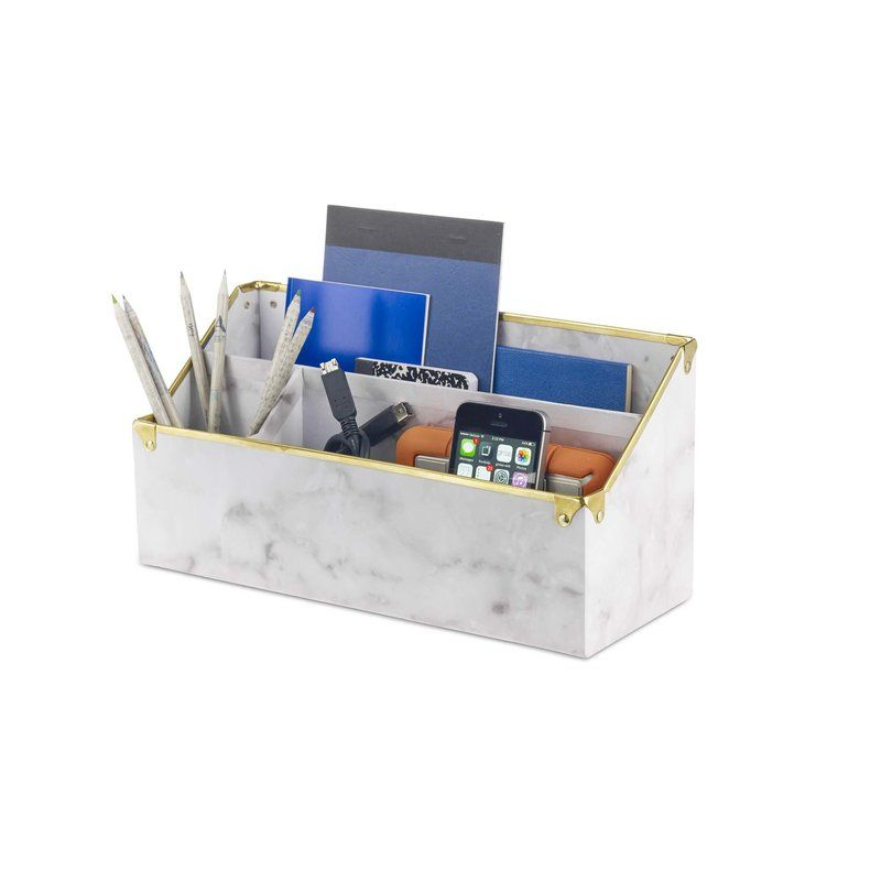Desk Table Storage Box Organizer Box Stationery Makeup Office Small Case LJ