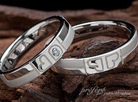 二人だけの幸せ四つ葉のクローバーマリッジリング(結婚指輪)をオーダーメイド