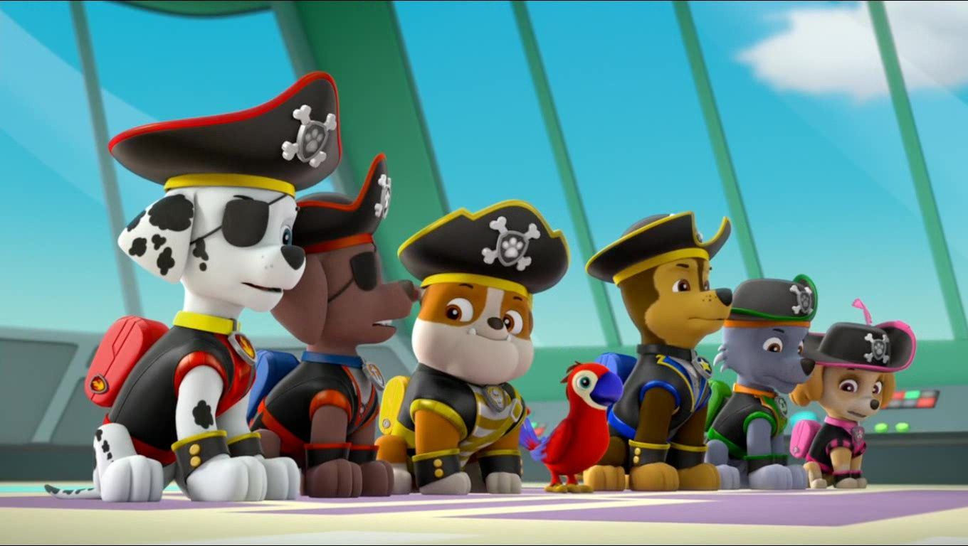 Sea Patrol Pirate Pups To The Rescue Gallery Com Imagens Caninos
