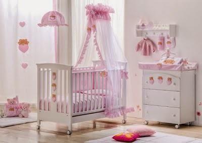 Decoracion cuarto de bebe ni a buscar con google el - Decoracion para habitacion de bebe nina ...