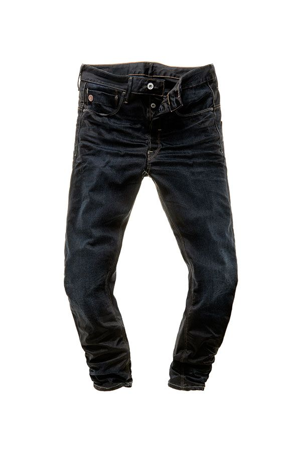 706f3689489d9 The Men s Type C 3d loose tapered has long rear pockets and an extremely  tapered fit. It comes in 11.5oz denim with a 16-dip shade of indigo.