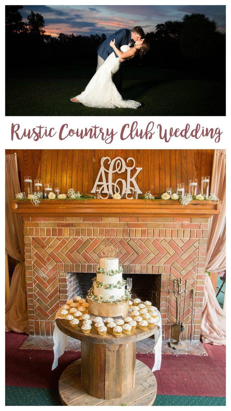 Allie kyle gold and green sweetwater country club wedding