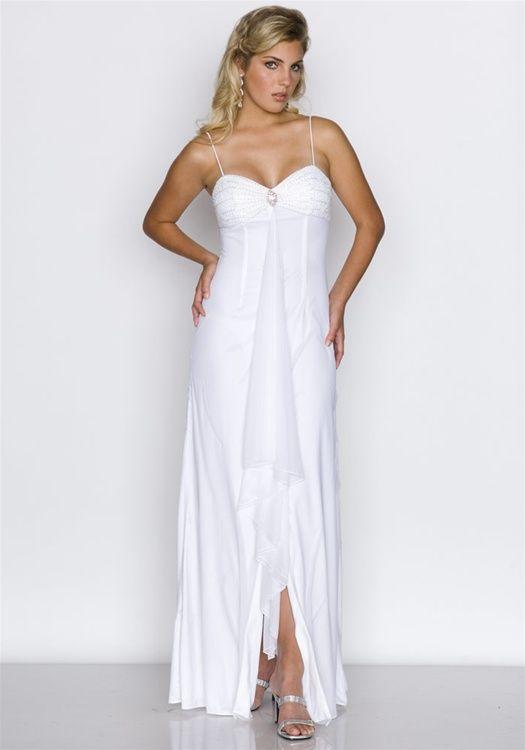 White Bridesmaid Dresses Under 100