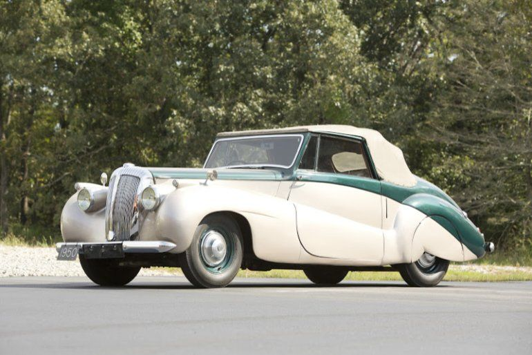 1950 Daimler Db18 Drophead Coupe Auto S 1950 S