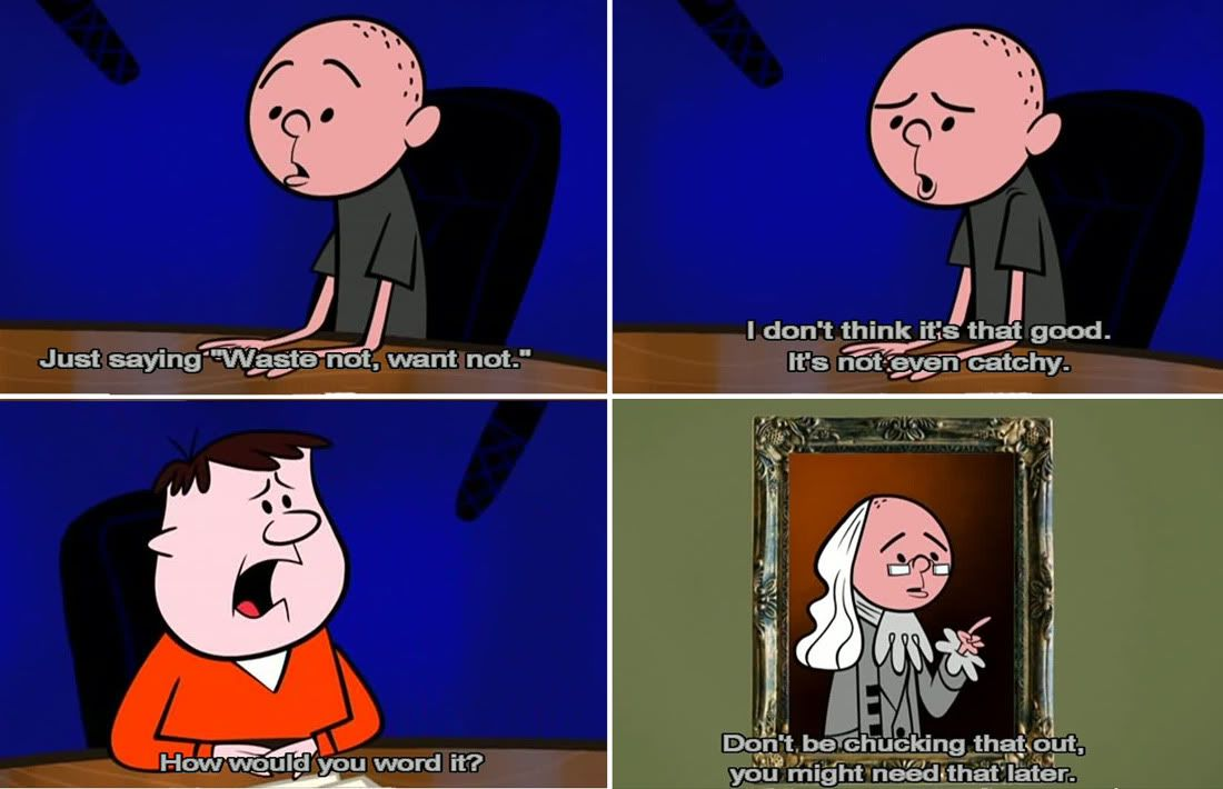 Karl Pilkington In The Ricky Gervais Show.
