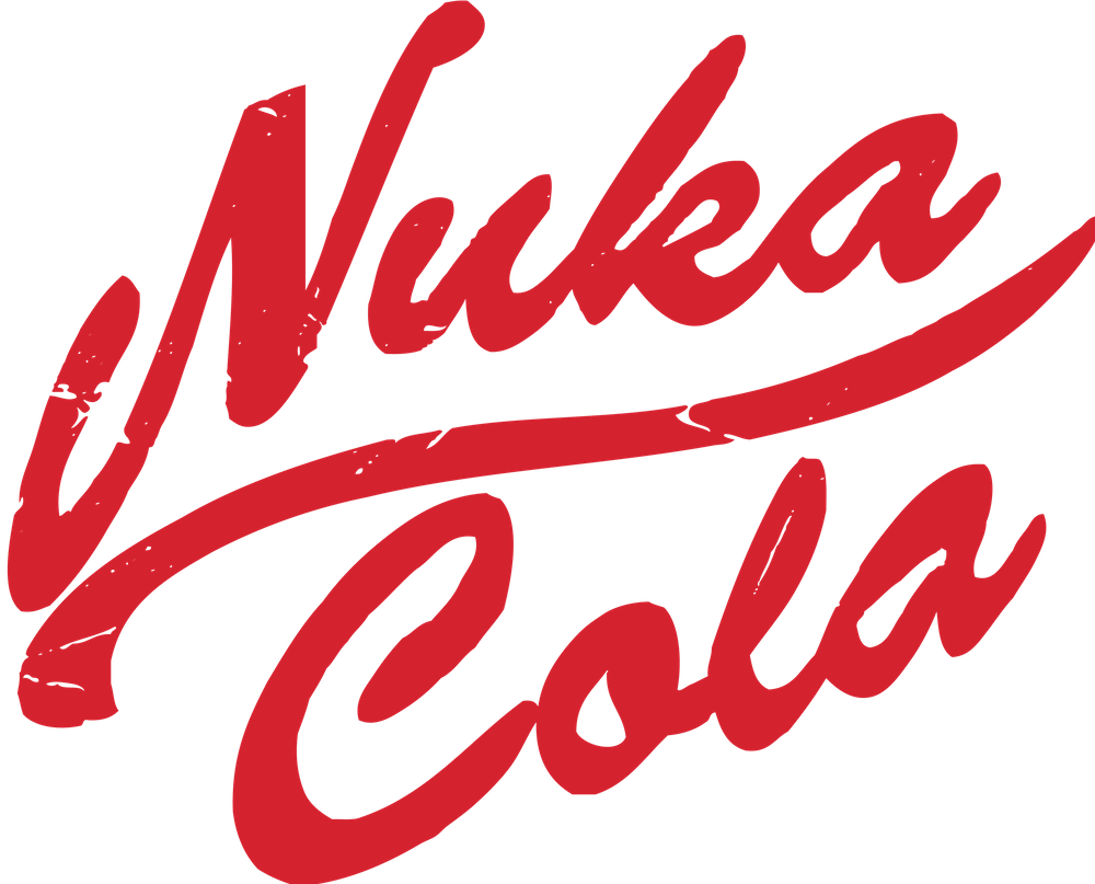 Fallout Nuka Cola Sticker By Andrew Ryan White 3 X3 Fallout Nuka Cola Fallout Cola