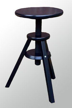 ikea hocker drehhocker barhocker stuhl höhenverstellbar 43-58 cm,