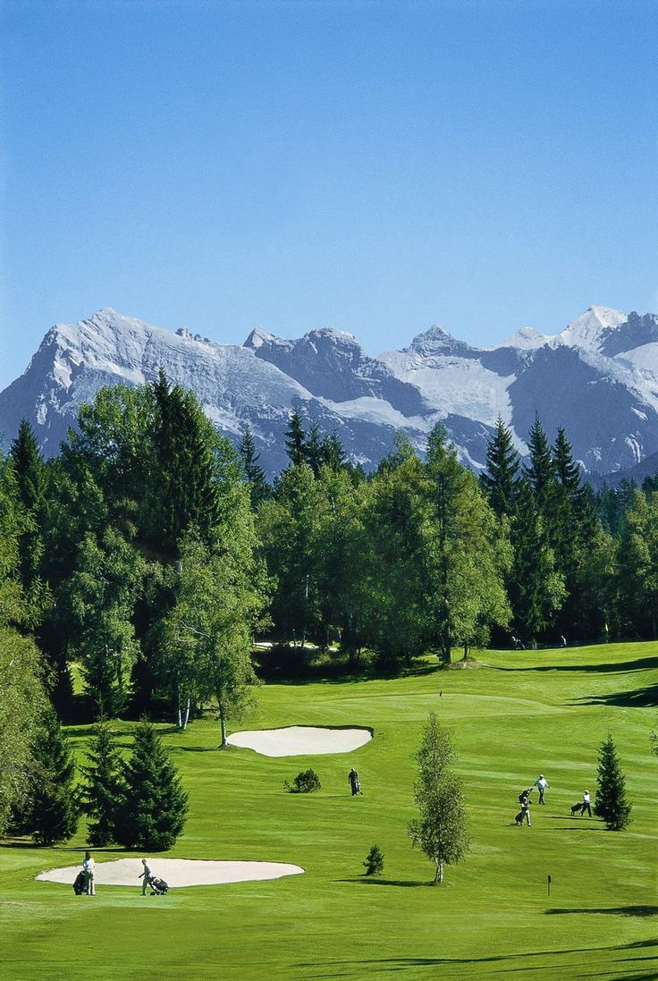 golfclub wildmoos in seefeld in tirol austria 1400 m. Black Bedroom Furniture Sets. Home Design Ideas