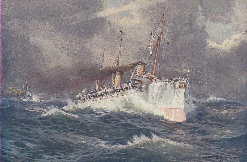 Hohenzollern Ii With Images Marine Art Maritime Art Image