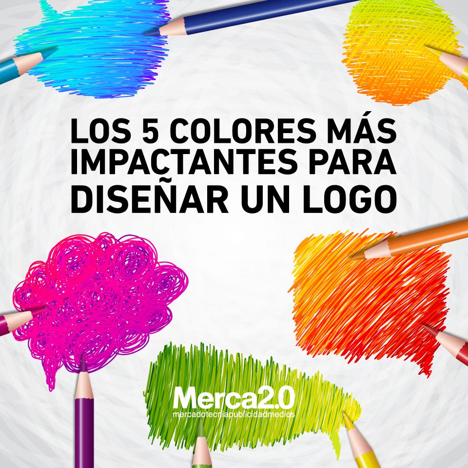 Los 5 Colores Más Impactantes Para Diseñar Un Logo Disenos De Unas Diseño De Logotipos Diseñar Logos Gratis