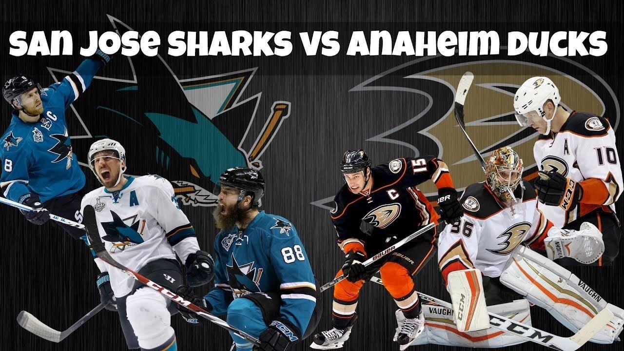 size 40 fe157 3c291 San Jose Sharks vs Anaheim Ducks series preview - 2018 NHL Playoffs
