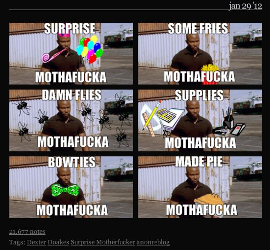 Pin By Stina C Quinto On Omgfangirl Dexter Funny Dexter Doakes Tf2 Memes