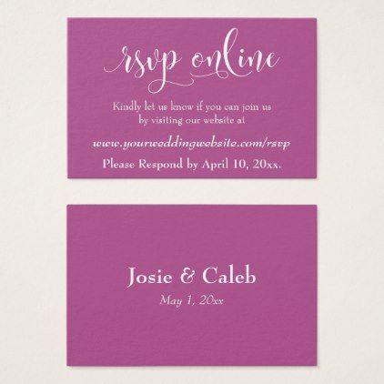 wedding rsvp online insert white script over pink wedding planning