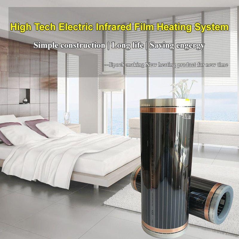 5 square meters electric floor heating film ac220v