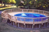 Unique Above Ground Pool Ideas (with Pictures) | eHow