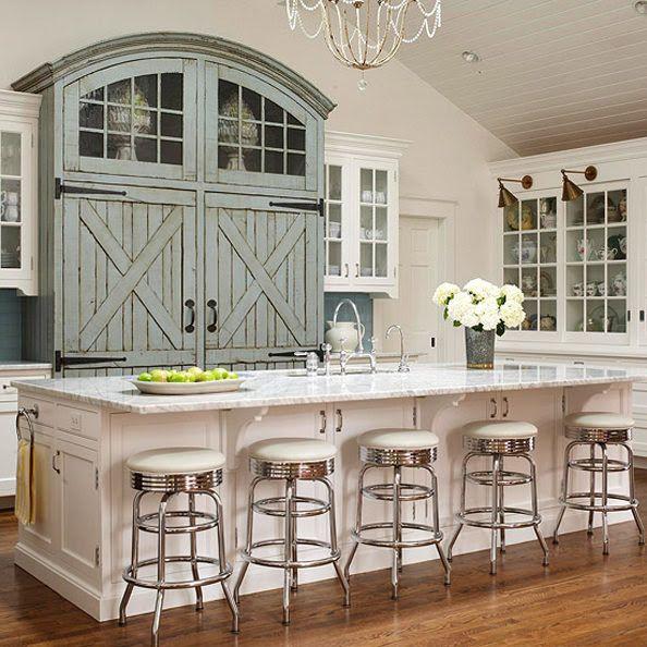 Blue Kitchen Design Ideas La maison, Déco intérieure et Pour la maison - Idee Deco Maison De Campagne