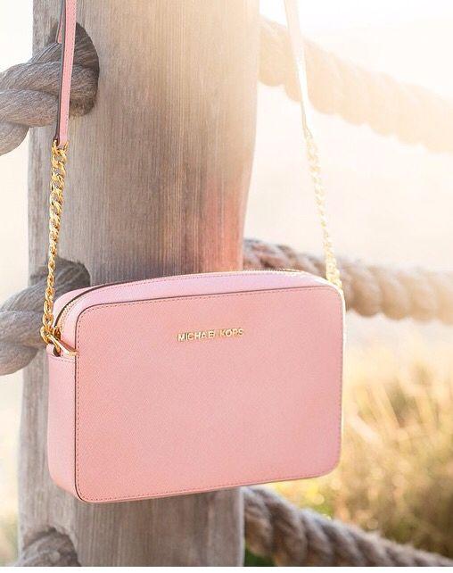 d11c978d32c46f Soft pink MK bag | Bags | Handbags michael kors, Cheap mk bags ...