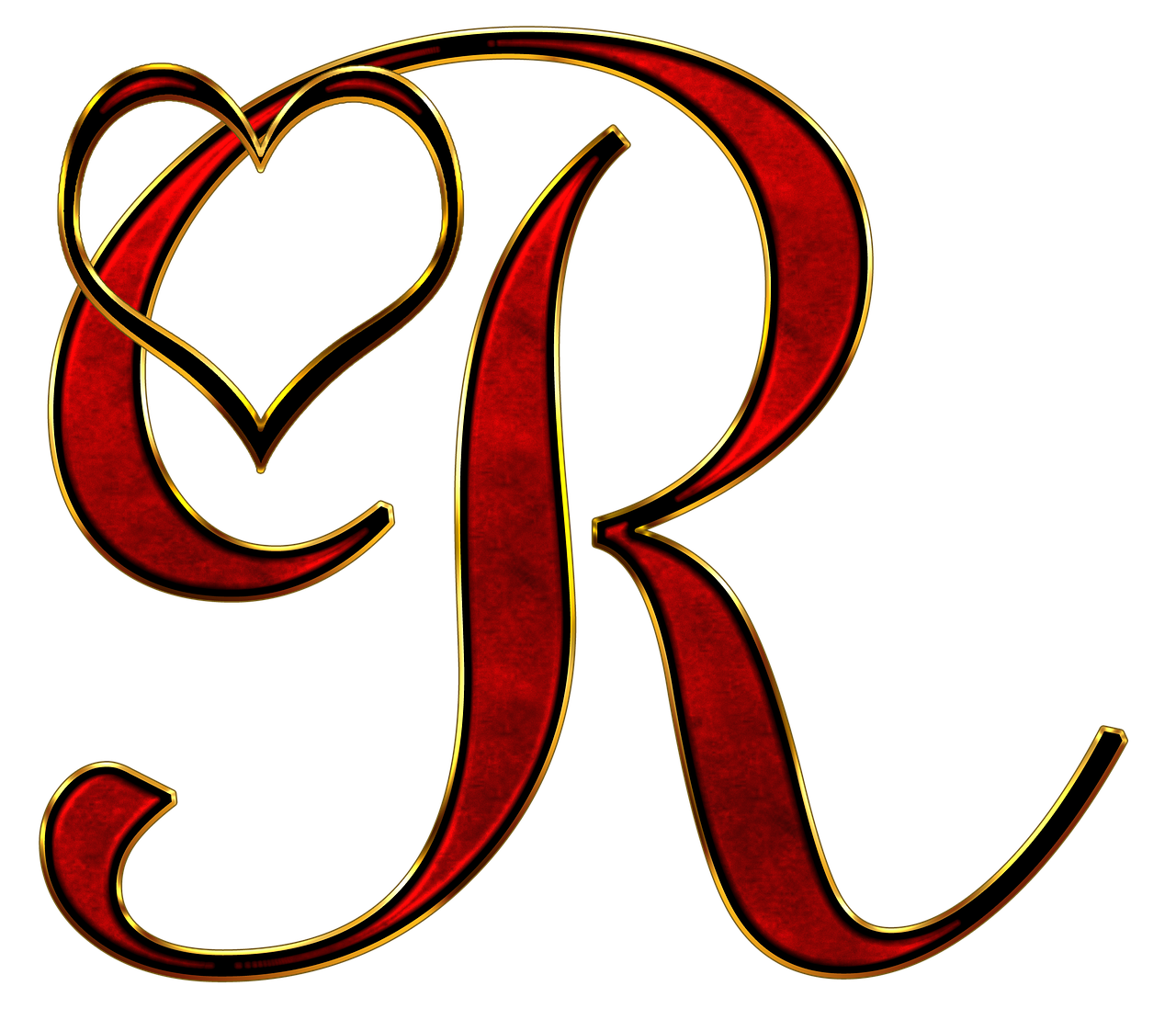 Alphabet Letter Initial Heart Background Lettering Alphabet Alphabet Letters Design Graffiti Lettering Fonts