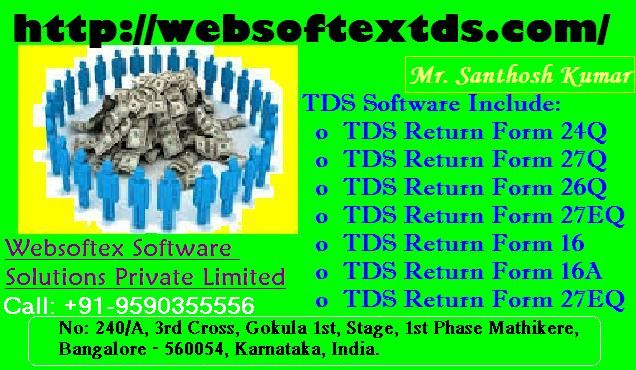 websoftextds  TDS Software Online TDS Software Free - payroll forms free